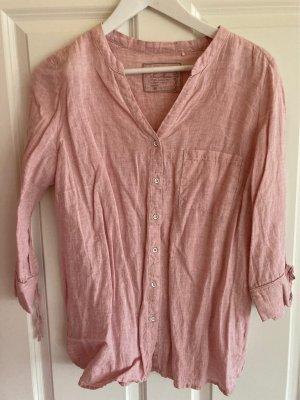 Sa.Hara Linen Blouse pink linen