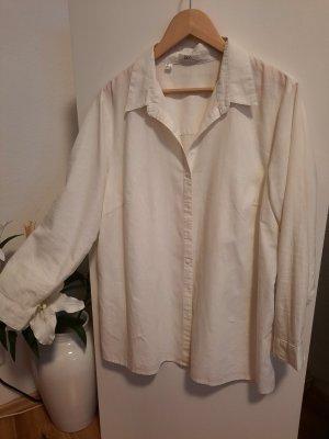 bpc bonprix collection Linen Blouse white linen