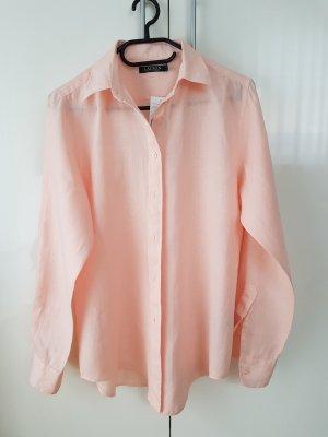 Leinen Bluse von Ralph Lauren in Gr. M in rosé