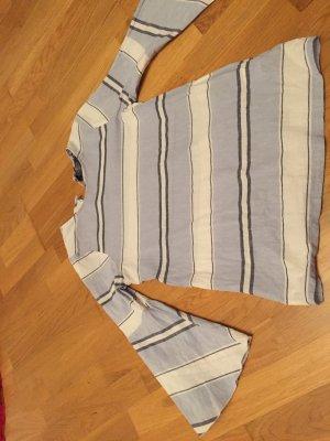Coercion Blusa in lino multicolore Lino