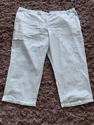 bpc Pantalon capri vert menthe lin
