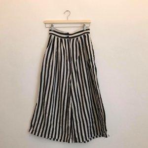 H&M Culotte noir-blanc cassé viscose