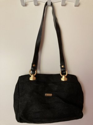 Avance Creation Canvas Bag black linen