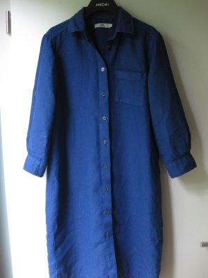 0039 Italy Vestido tipo blusón azul neón-azul