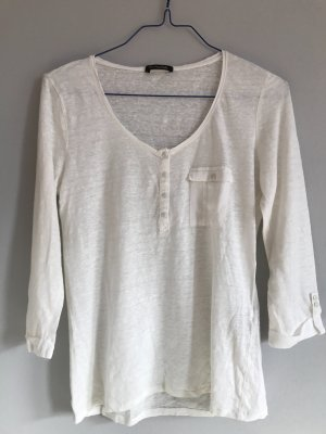 Leinen–Henley-Shirt von Massimo Dutti