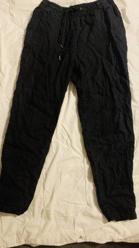 H&M Pantalón de lino negro