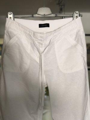 Tchibo / TCM Pantalon en lin blanc