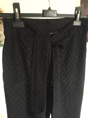 Majestic Filatures Pantalon en lin noir lin