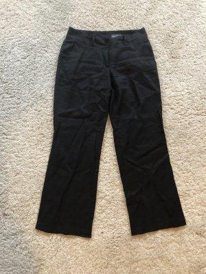 Leinen-Hose schwarz