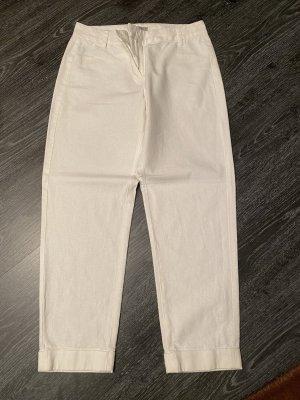 Great plains Pantalone di lino bianco