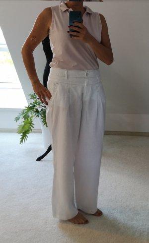 Apanage Pantalon en lin blanc lin