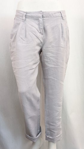 Personal Affairs Pantalón de lino gris claro