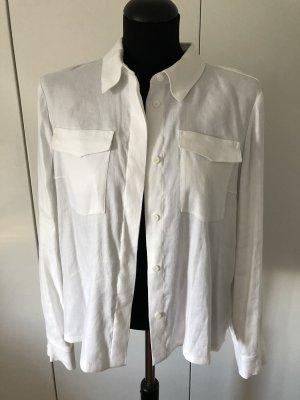 Laurèl Blusa de lino blanco