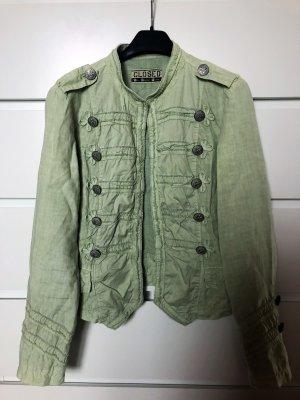 Leinen Jacke in Military Style von Closed