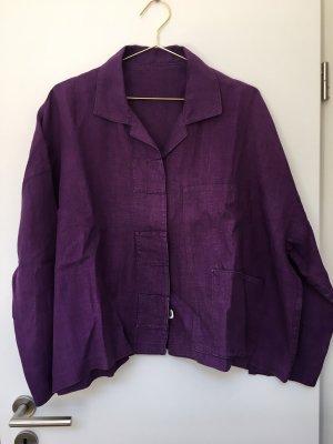 Deerberg Shirt Jacket blackberry-red-brown violet