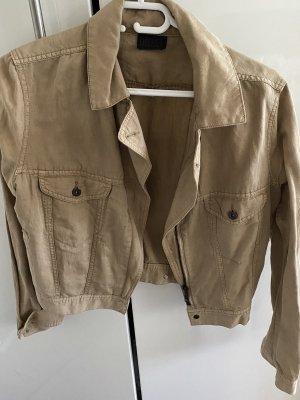 Diesel Korte blazer beige