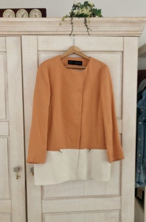 Zara Frock Coat apricot-natural white