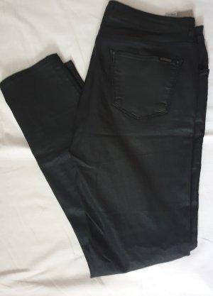 Pantalon en lin noir lin