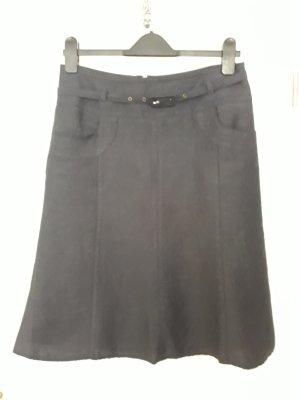 Steilmann Linen Skirt blue linen