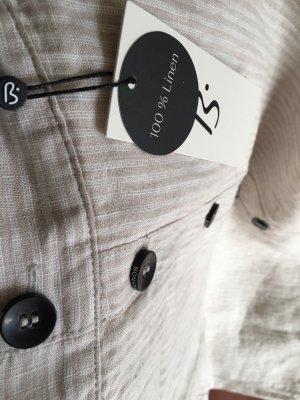 Bonita Lniana spódnica kremowy-beżowy