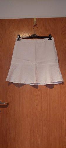 H&M Lniana spódnica biały