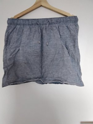Esmara Lniana spódnica błękitny