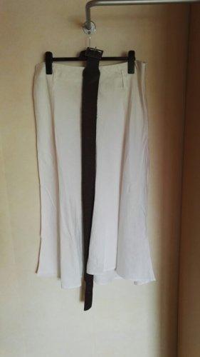 C&A Yessica Linen Skirt white linen