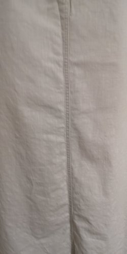 M&S Falda de lino blanco