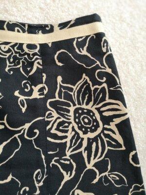 Esprit Linen Skirt black-cream