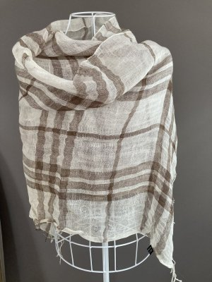 Leinen-Schal