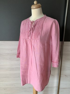 s.Oliver Linen Blouse neon pink