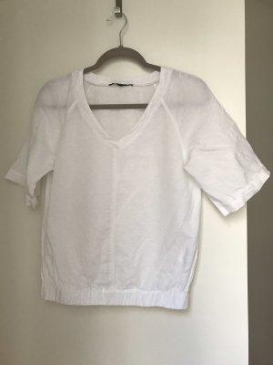 Reserved V-Neck Shirt white