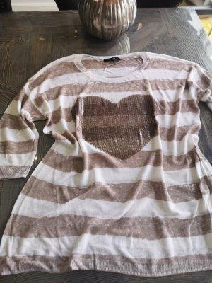 Leinen Shirt Bonita Gr L Glitzer