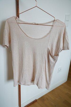 Leinen-Shirt Marie Sixtine gold