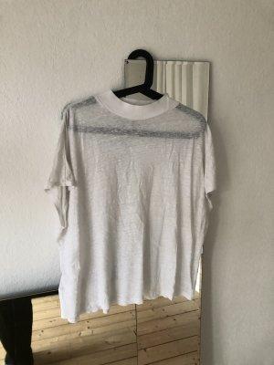 Leinen Shirt mit Stehkragen, leichtes Sommershirt