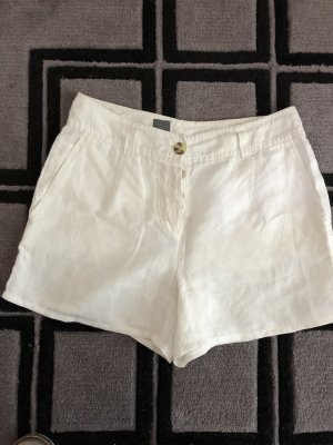 Cinque Shorts white linen