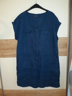 Leinen Sommer Shirt Kleid Gr. 44/46