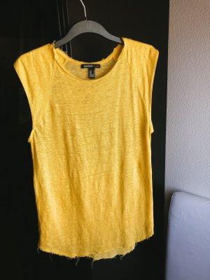 Mango Tank Top yellow-gold orange