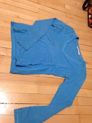 Leinen Tommy Hilfiger Pullover blau S