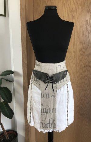 Stockerpoint Falda de lino multicolor Lino