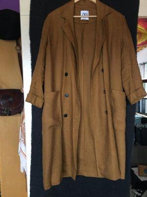 Leinen-Trenchcoat von Zara