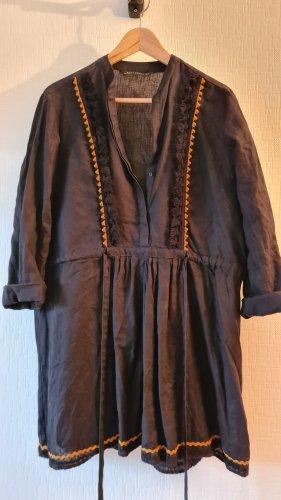 Leinen Tunika-Kleid Zara