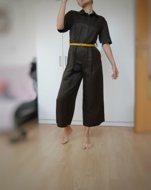 Massimo Dutti Jumpsuit dark brown