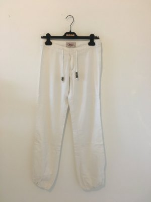 Only Linen Pants white-natural white