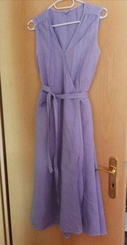 Gap Vestido cruzado púrpura