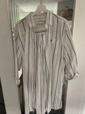 Lexington Camicetta lunga bianco-grigio