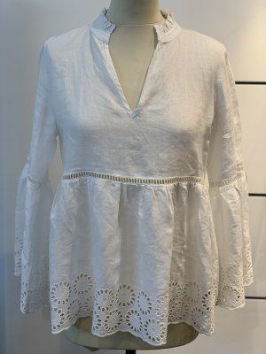 Angoor Blouse en lin blanc