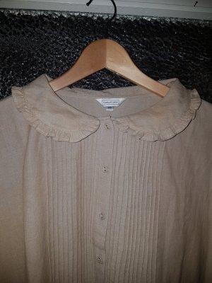 Vintage Linen Blouse beige