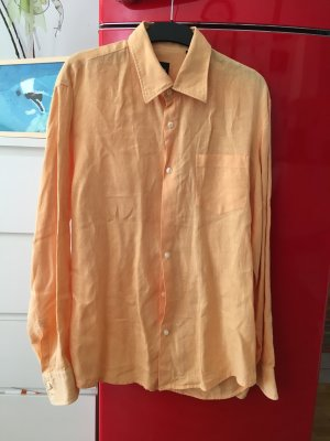 Boss Orange Linen Blouse nude