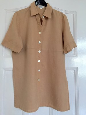 Best Connections Linen Blouse camel linen